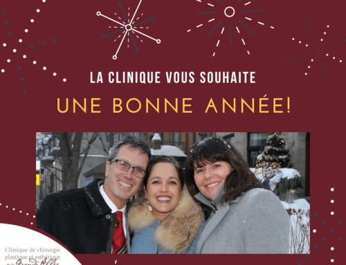 La nouvelle année vous appartient!