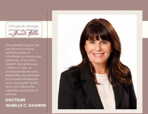 Docteure Isabelle C. Gagnon